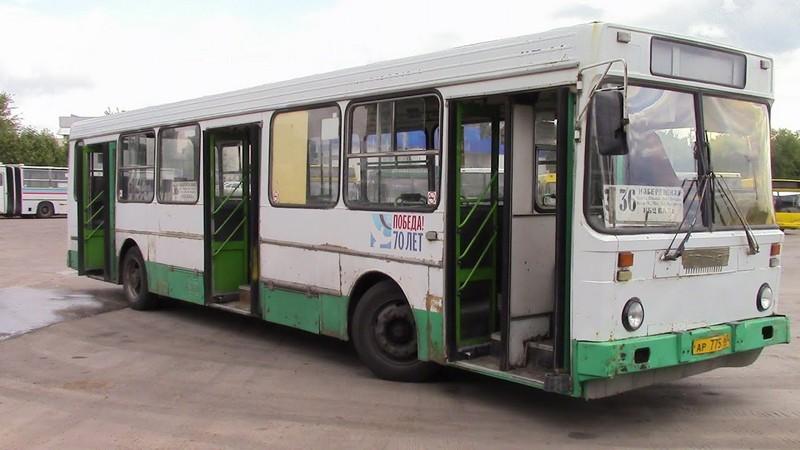 ЛиАЗ-5256  с двигателем Caterpillar