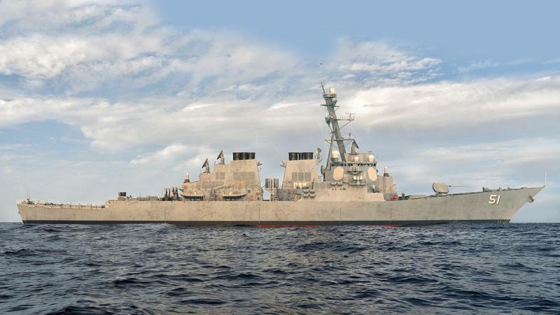 Вирус не помешает производству эсминцев Arleigh Burke для ВМС США.