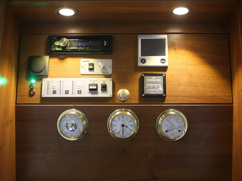 Блок-панель для контроля параметров некоторых  систем