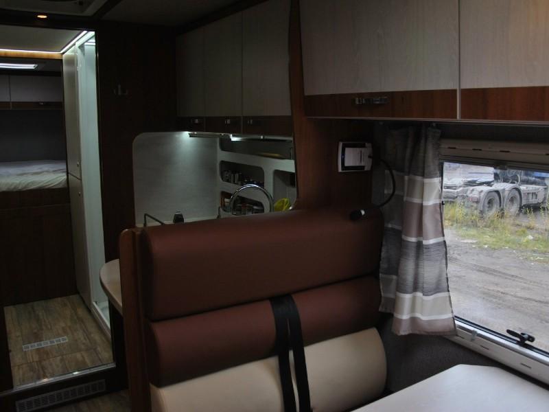 Столовая зона фургона  на шасси Iveco Daily 70C/21