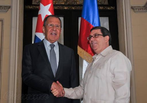Министры иностранных дел Кубы и России провели телефонный разговор