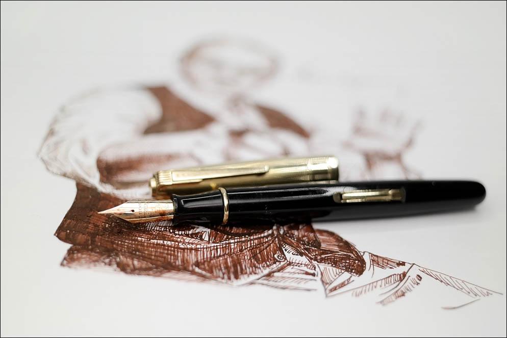 Waterman's Gold Corinth. Lenskiy.org