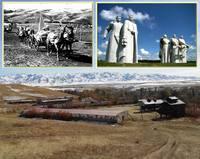 Украинские переселенцы, поселившиеся в Казахстане в 1912 году, выбрали место для села в пойме маленькой речушки