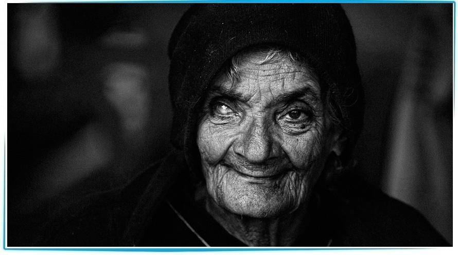 деревенская бабка