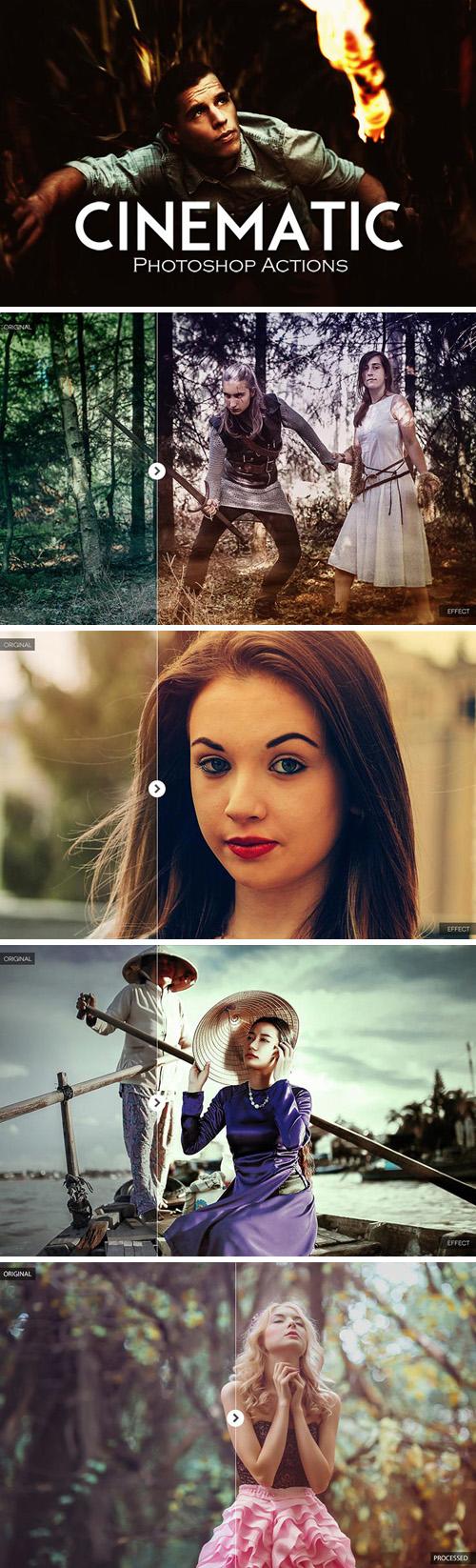10 Cinematic Photoshop Actions
