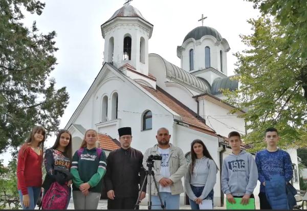 Сербия, Ниш, школьный фильм, история