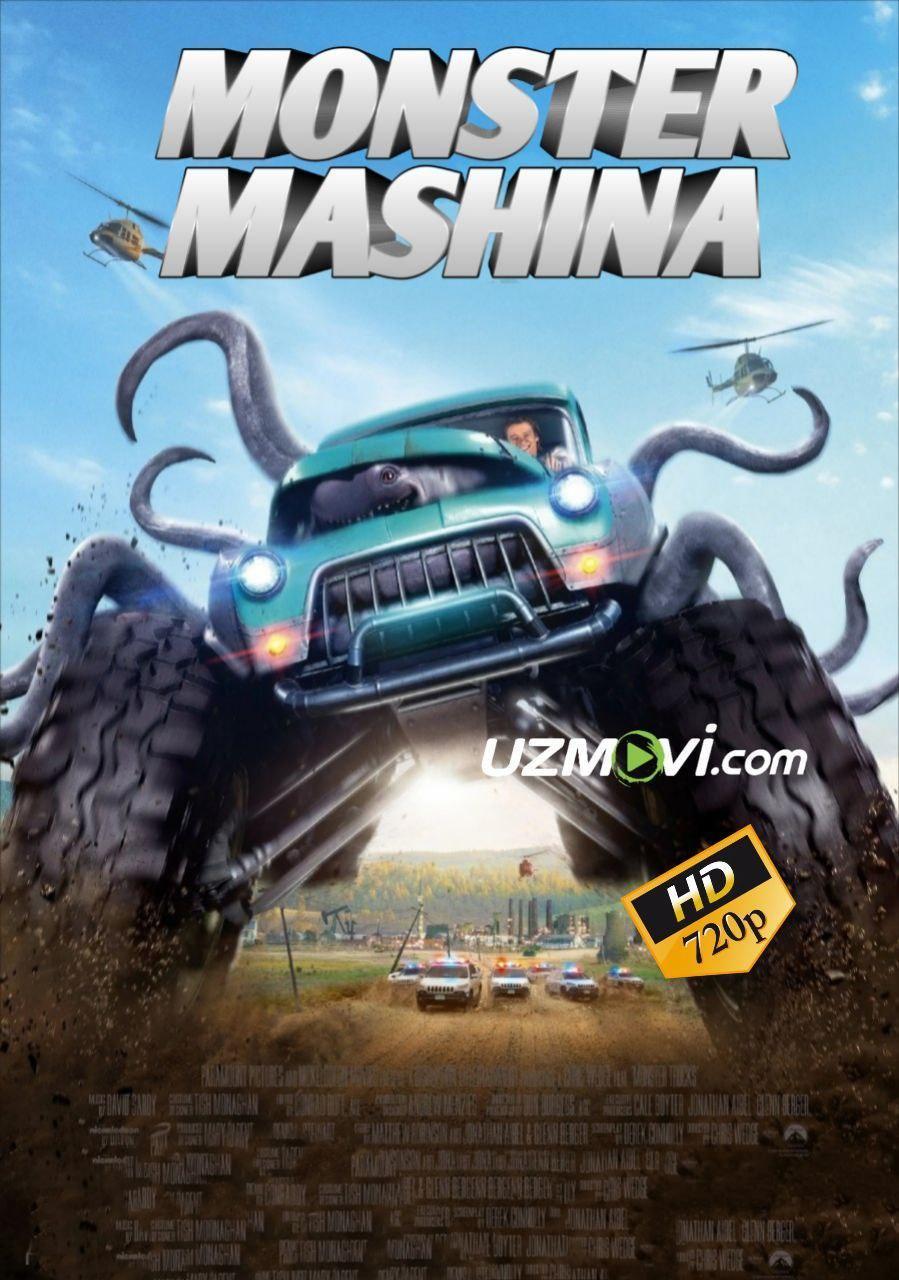Monster Mashina Uzbek O'zbek tilida