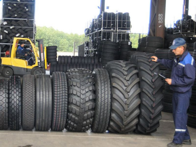 Склад шин