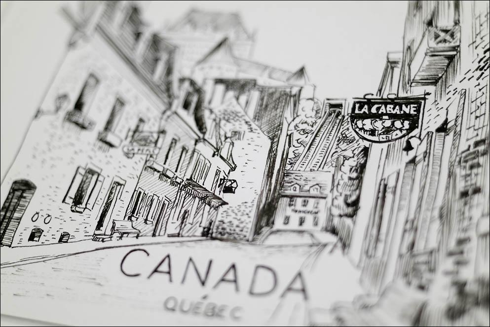 Canadian postcards (Quebec). Lenskiy.org