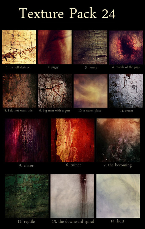 Photoshop Textures Pack 24