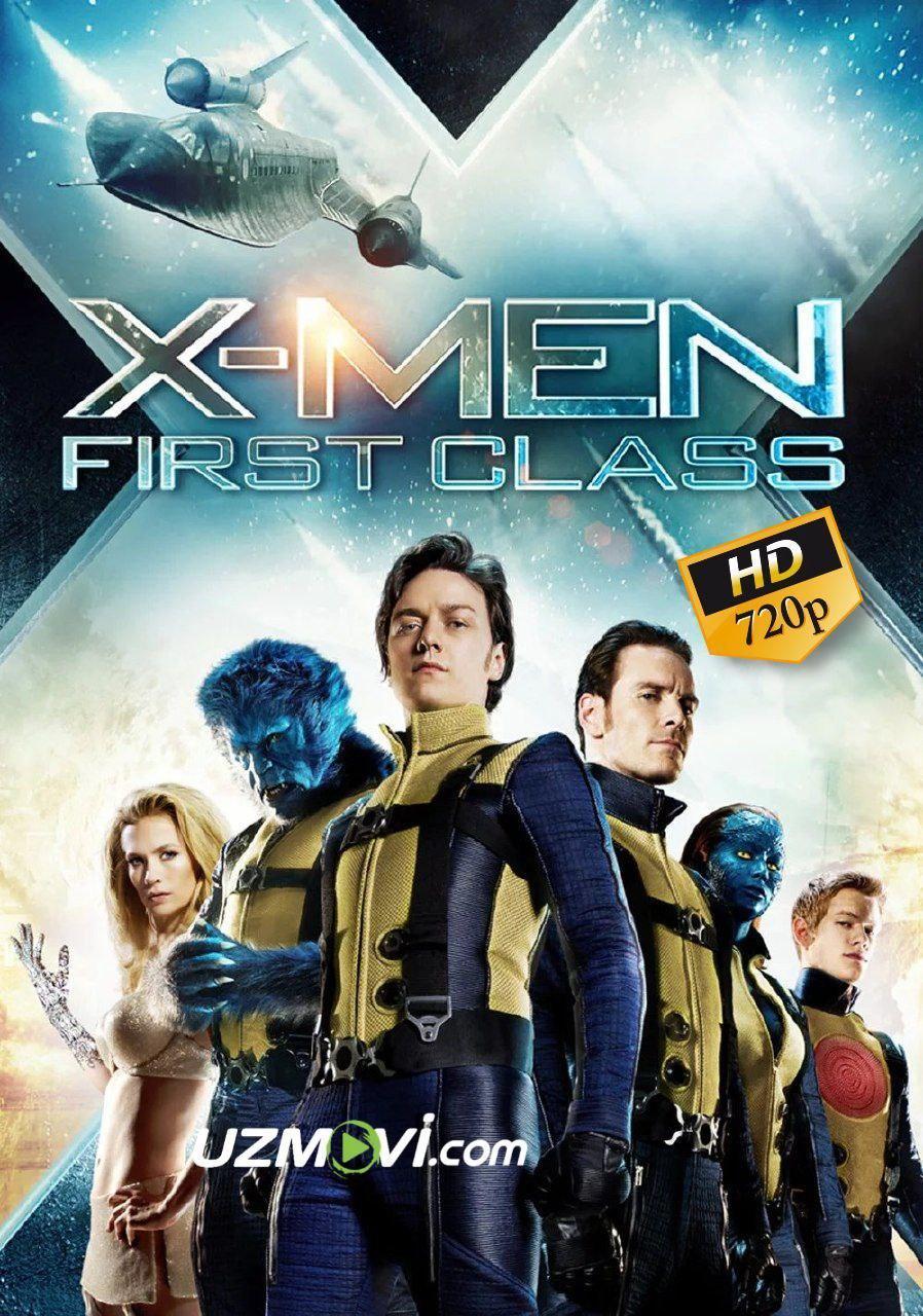 X-men G'aroyib Odamlar 1 sinf Yuqori sifatda kesilmagan