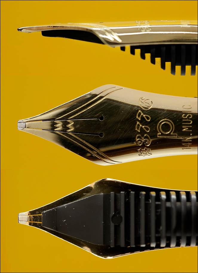 Platinum 3776 Balance with Music nib ground to Crisp Italic