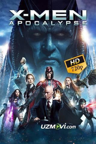 X-men G'aroyib Odamlar 3 Apokalypsis Yuqori sifatda kesilmagan