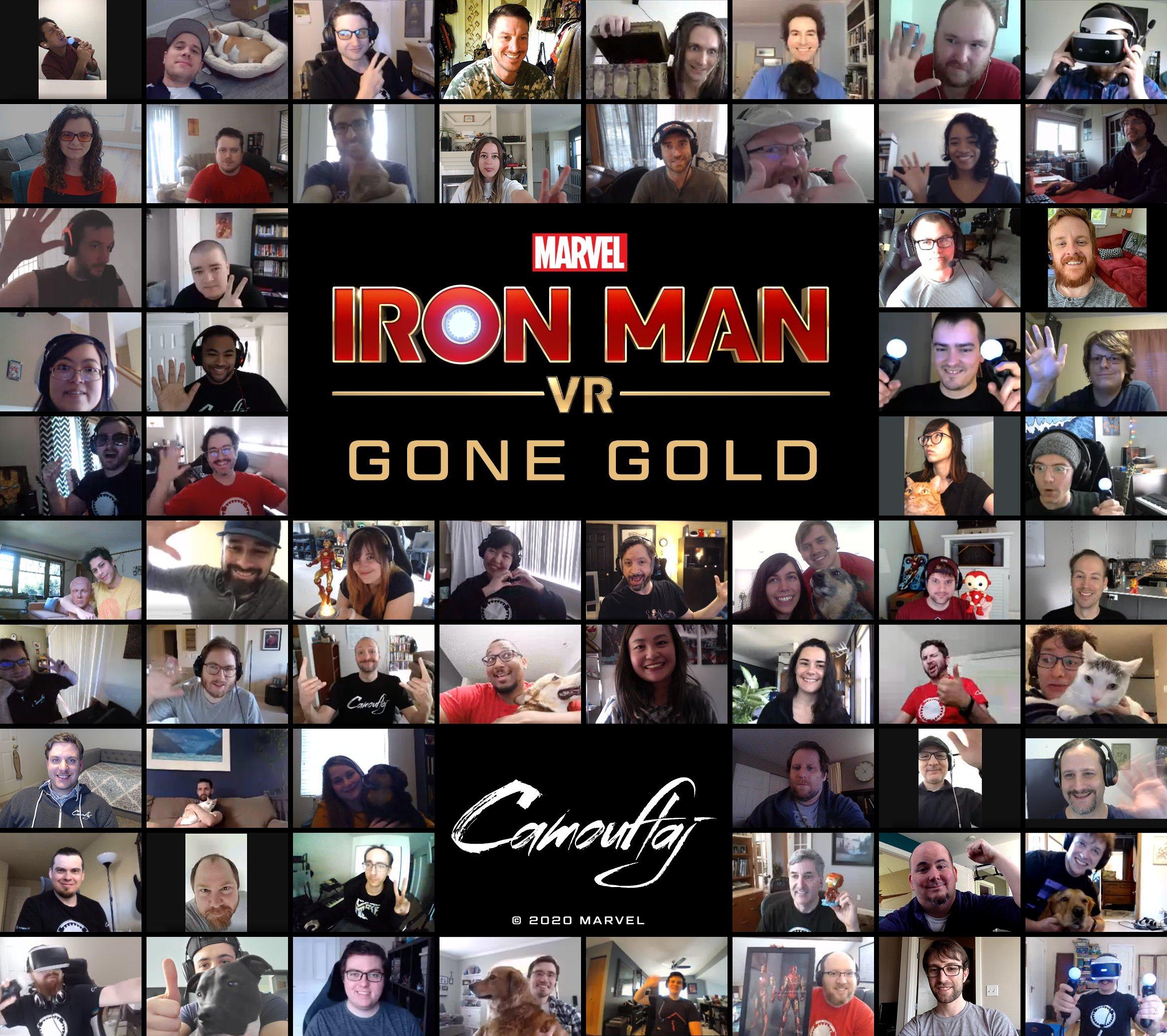 Marvel's Iron Man VR ушла на золото