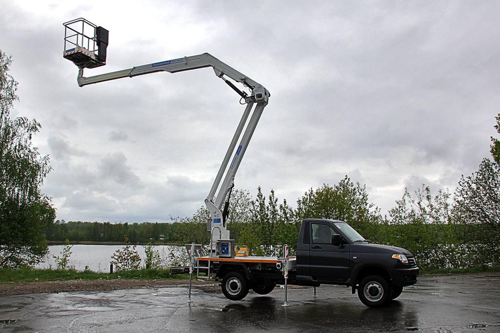 АГП-15РТ на шасси УАЗ «Профи»