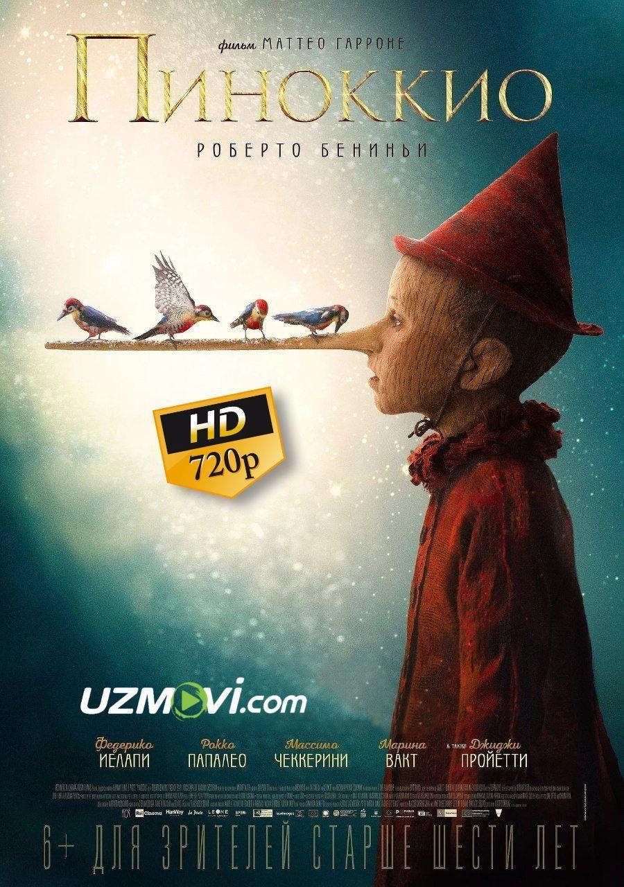 Pinokkio Pinokio Premyera Uzbek O'zbek tilida Yuqori sifatda