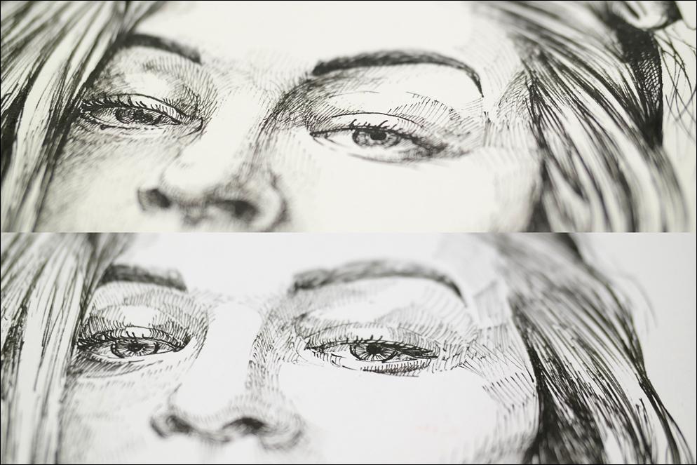 Portrait of woman. Idea exclusive present. Lenskiy.org