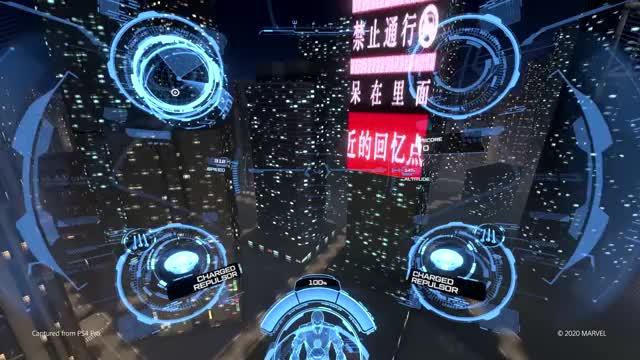 Знакомимся с продвинутой боевой системой и огромным миром Marvel's Iron Man VR