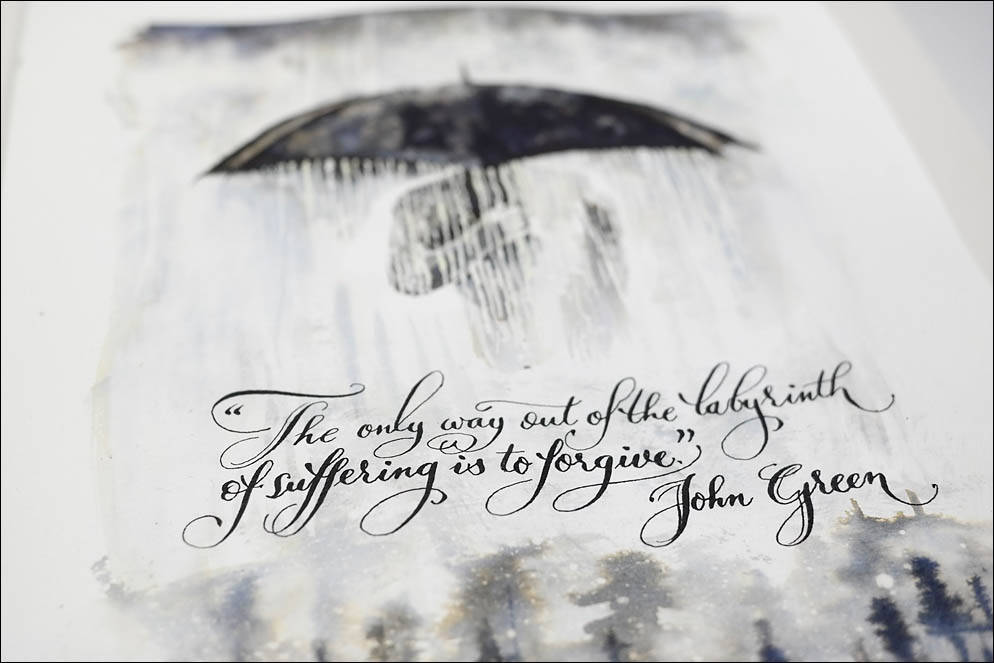 Rain man and John Green quote about labyrinth. Lenskiy.org