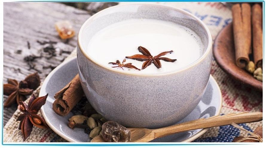 молоко со специями польза