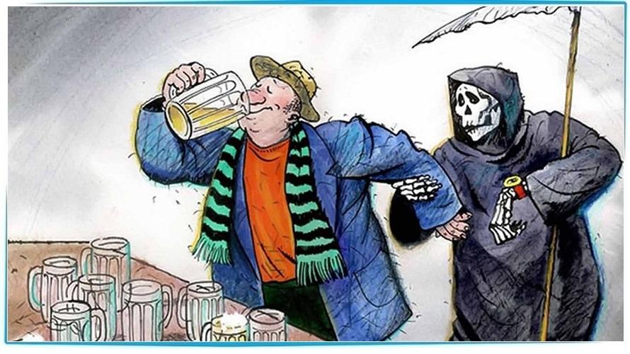 избавится от алкогольного опьянения