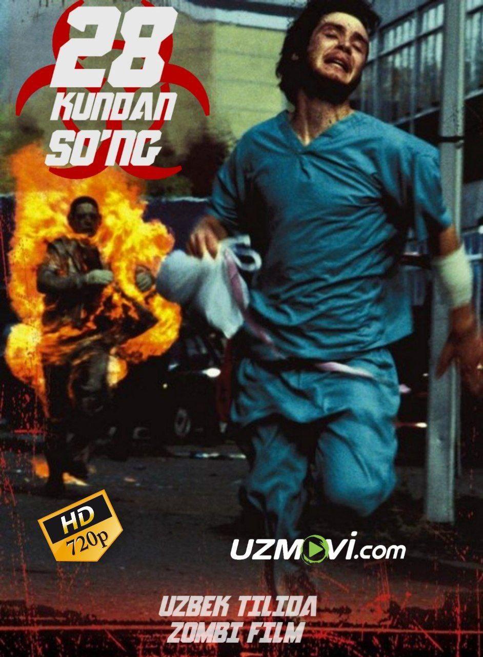 28 kundan so'ng premyera zombi film uzbek o'zbek tilida