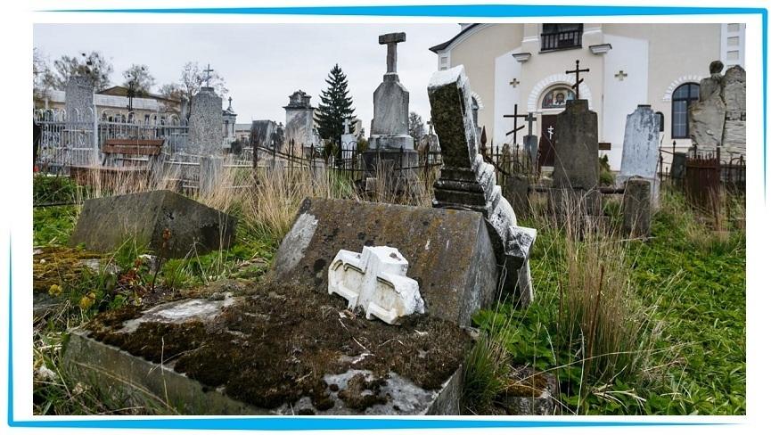 вести себя на кладбище
