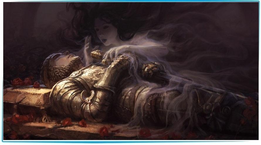 человек уходит после смерти