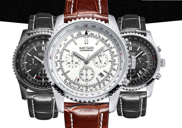 Часы Megir Aviator