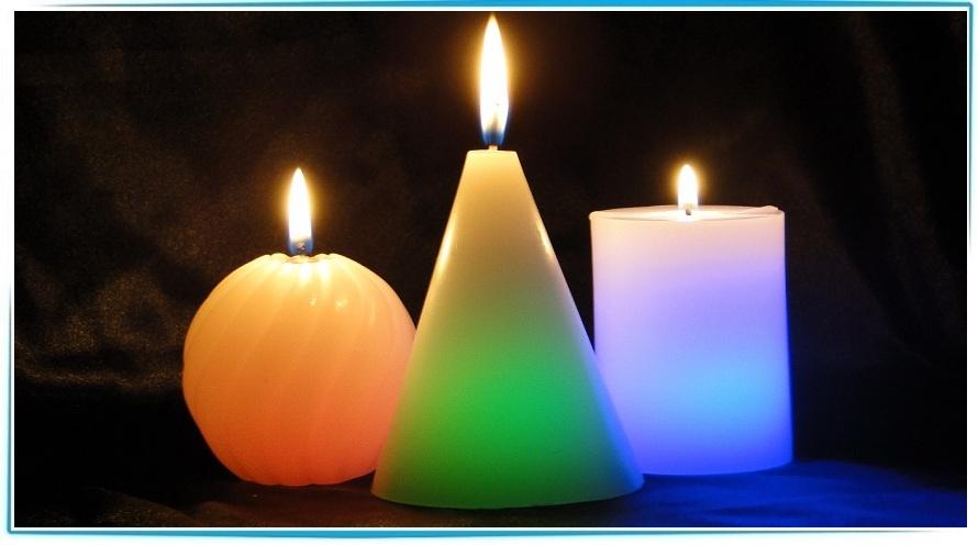 магия восковых свечей