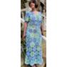 Кофта и платье кружочками Автор-Рита Кожан -2