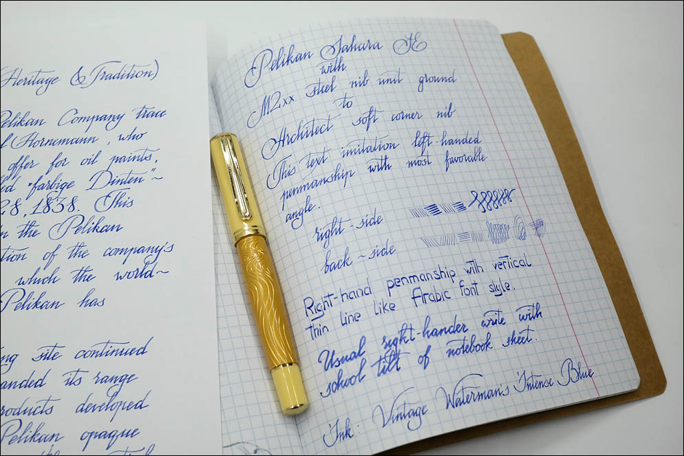 Pelikan M2xx nib unit to Architect. Lenskiy.org