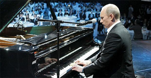 Путин поздравил коллектив «Русского радио» с юбилеем