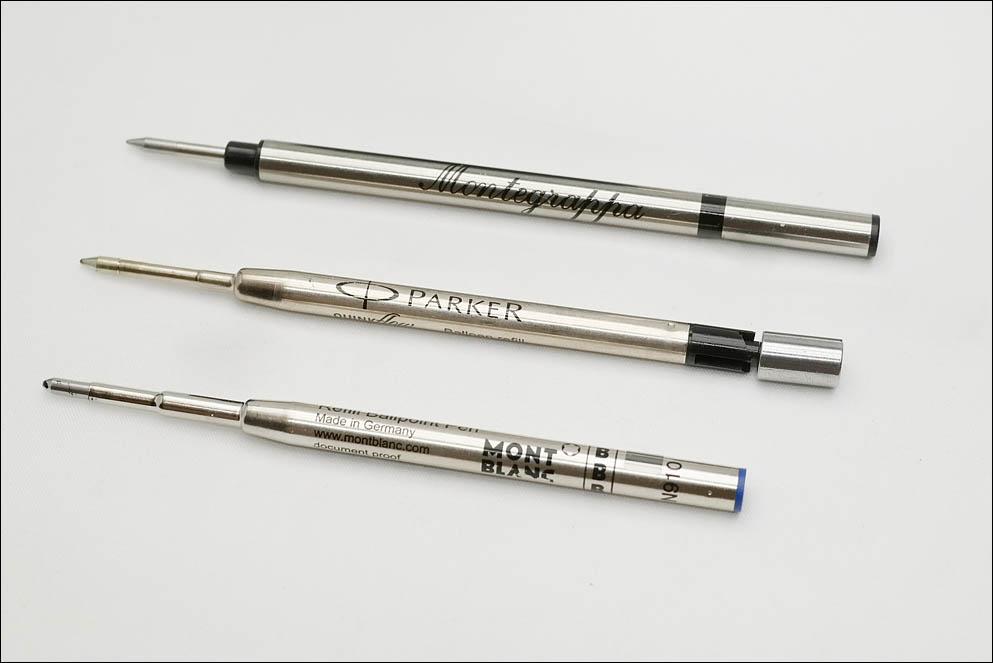 Montegrappa 300 roller convert to Parker ballpoint standard. Lenskiy.org