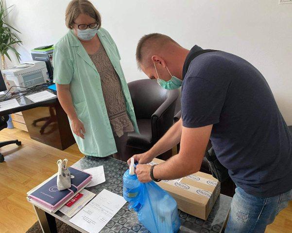 Косово, помощь, лекарства, Гораждевац