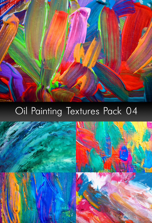 Oil Painting Textures, pack 4