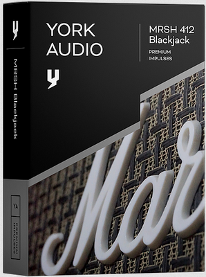 York Audio - MRSH 412 Blackjack (Kemper, WAV) [IR library]