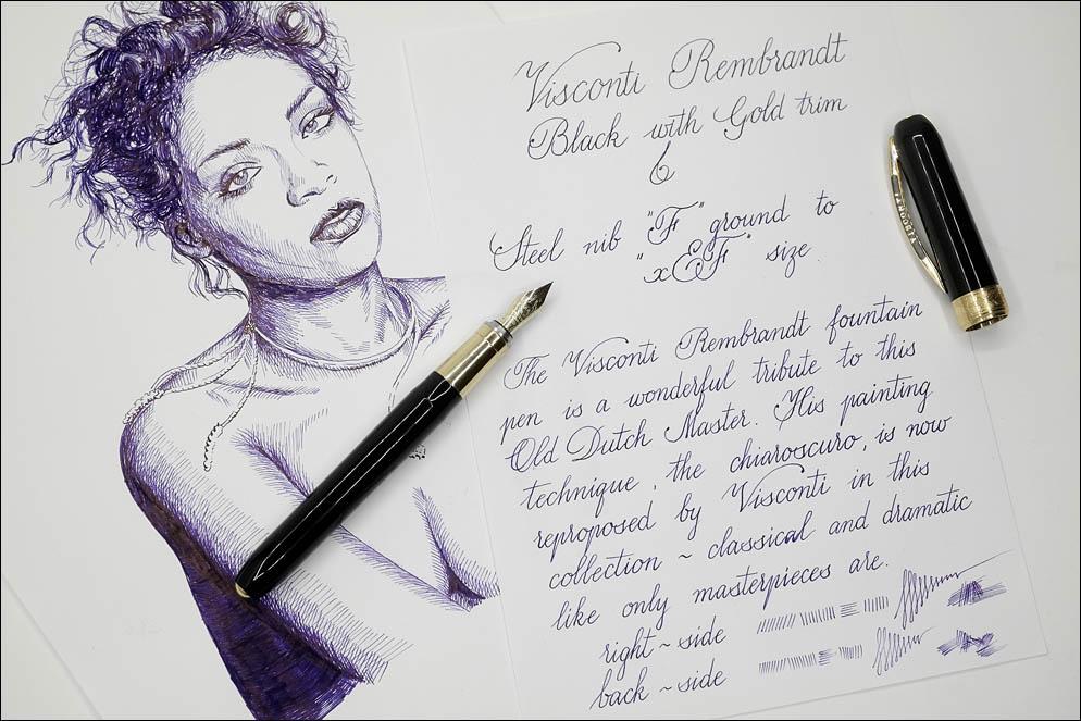 Visconti Rembrandt Black GT. Lenskiy.org