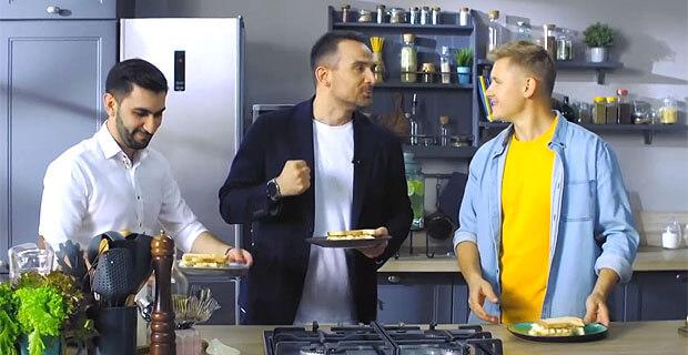Ведущие «Авторадио» в гостях у проекта «ПроСТО кухня» на СТС - Новости радио OnAir.ru