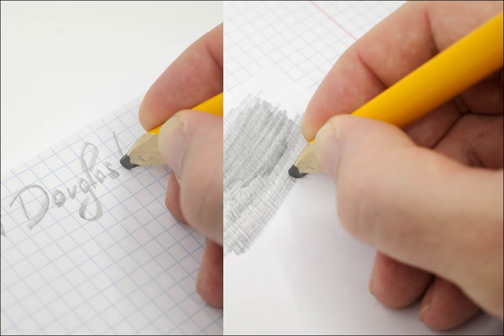 Handwriting angle measurement. Lenskiy.org