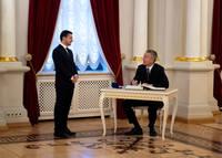 генсек НАТО Йенс Столтенберг и «президент» Владимир Зеленский