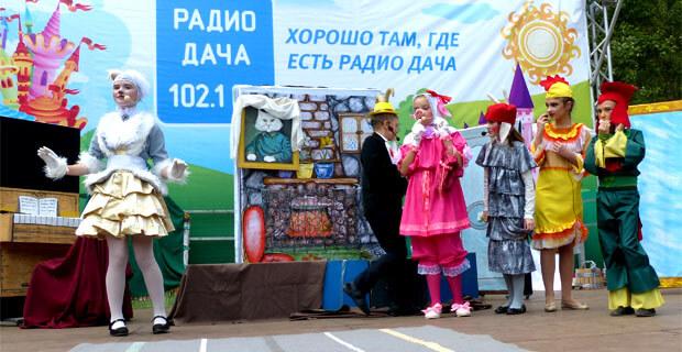 «Радио Дача Самара» провело День театра для детей - Новости радио OnAir.ru
