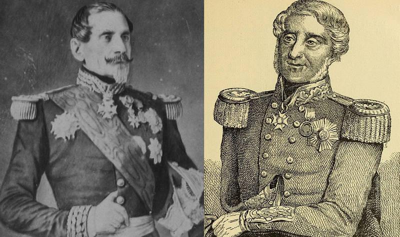 Главнокомандующие: французов – маршал де Сент-Арно и англичан – генерал Реглан