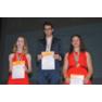 Andrea Akhlaghi Farsi в призовой тройке на пьедестале 52-го конгресса Интерстено в Кальяри Cagliari 2019. Номинация Speech Capturing