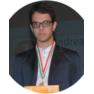 Andrea Akhlaghi Farsi на пьедестале 52-го конгресса Интерстено в Кальяри Cagliari 2019. Номинация Speech Capturing