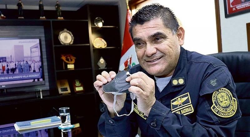 Генерал Альфредо Вильдос теперь под арестом