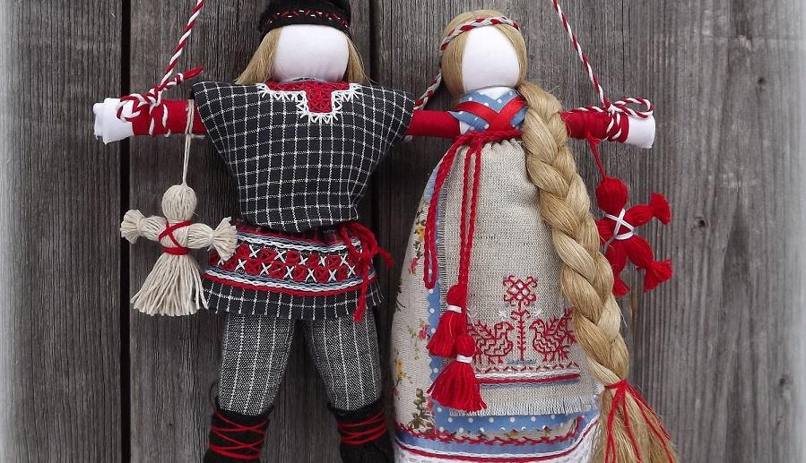 оберег кукла для любви