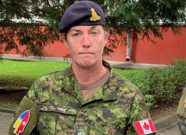 Дрессировщица ВСУ подполковник Сара Хир