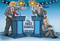 Разоблачение Трампа. Крис Уоллес и Джо Байден. Командный матч