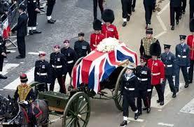 Так выглядела официальная церемония прощания с Маргарет Тэтчер. 17 апреля 2013 г.